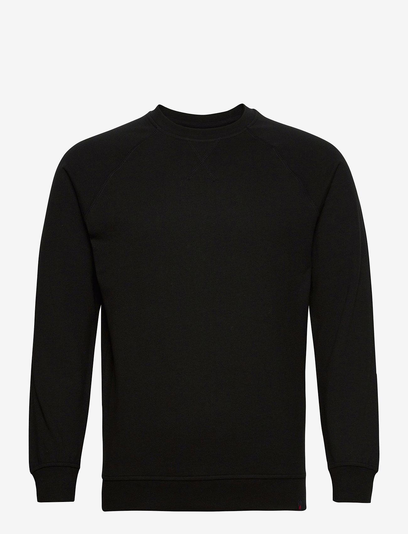 Denim project - BASIC SWEAT CREW - basic sweatshirts - 001 black - 0