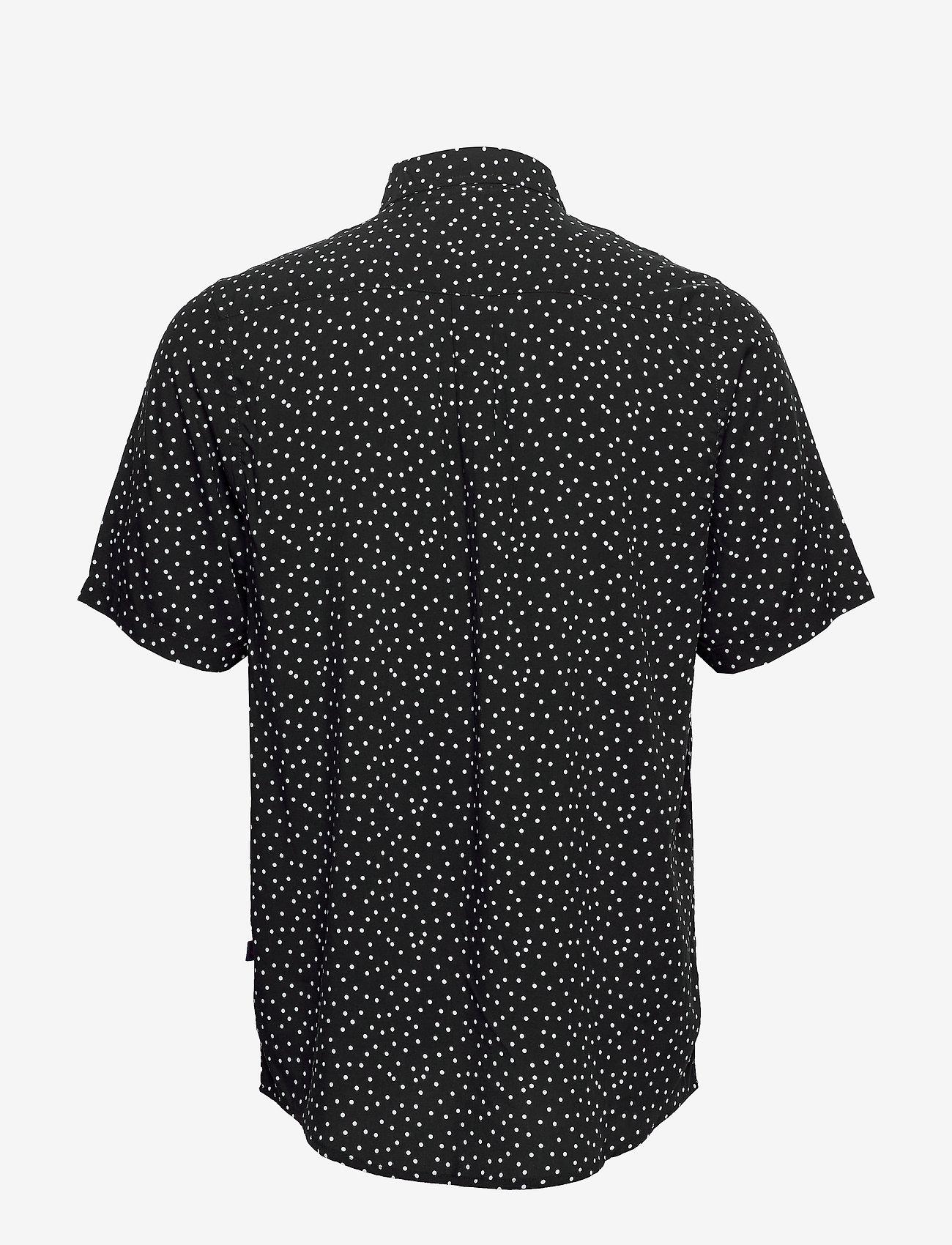 Denim project Grande S/S Shirt - Skjorter BLACK DOT - Menn Klær