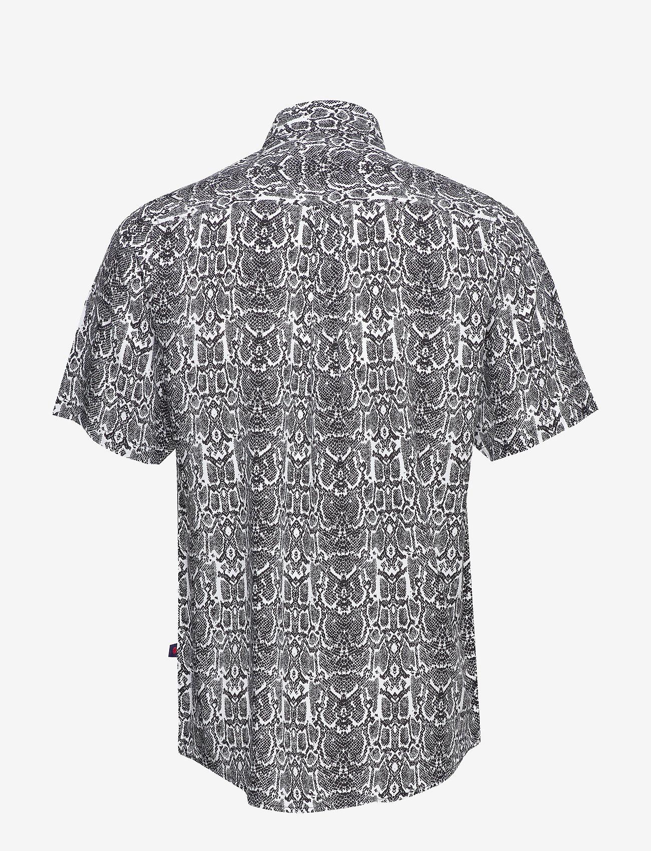Denim project Grande S/S Shirt - Skjorter SNAKE - Menn Klær