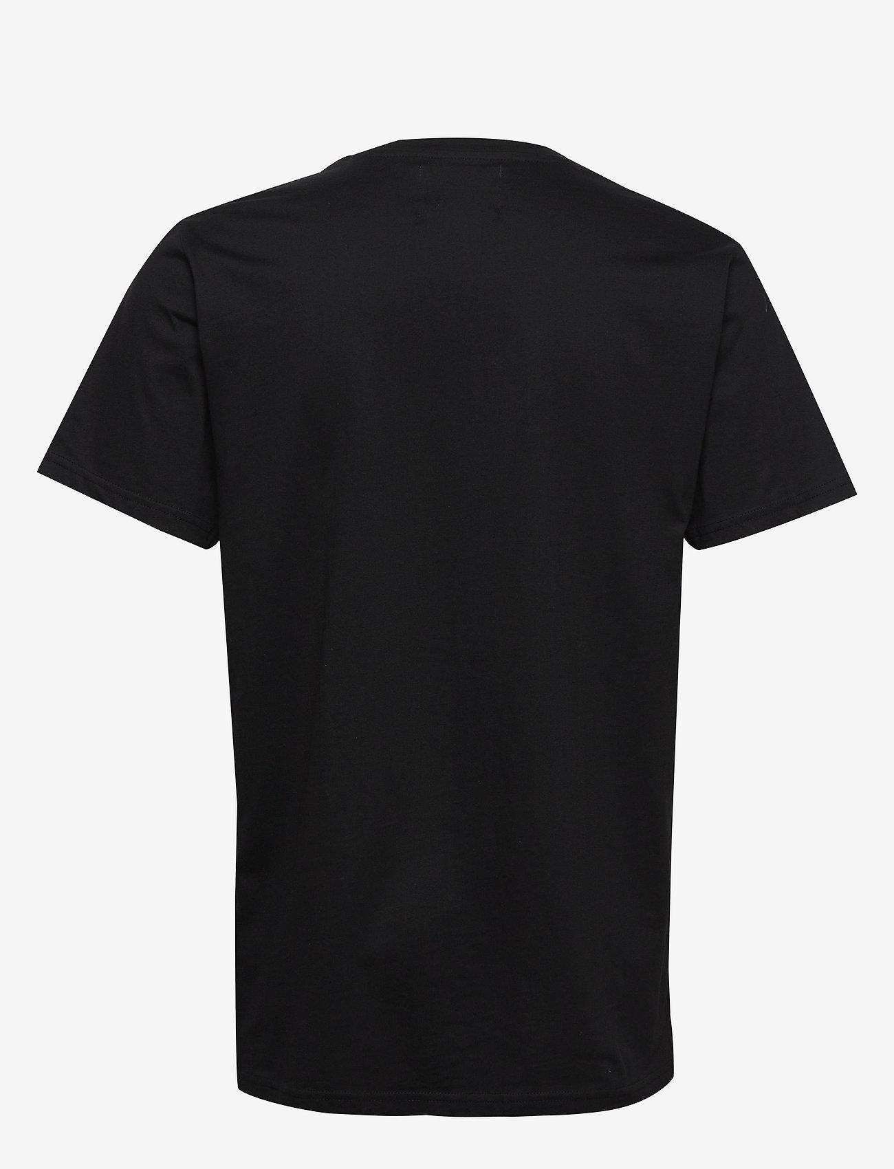 Denim Project Front S Logo Tee - T-shirts Black