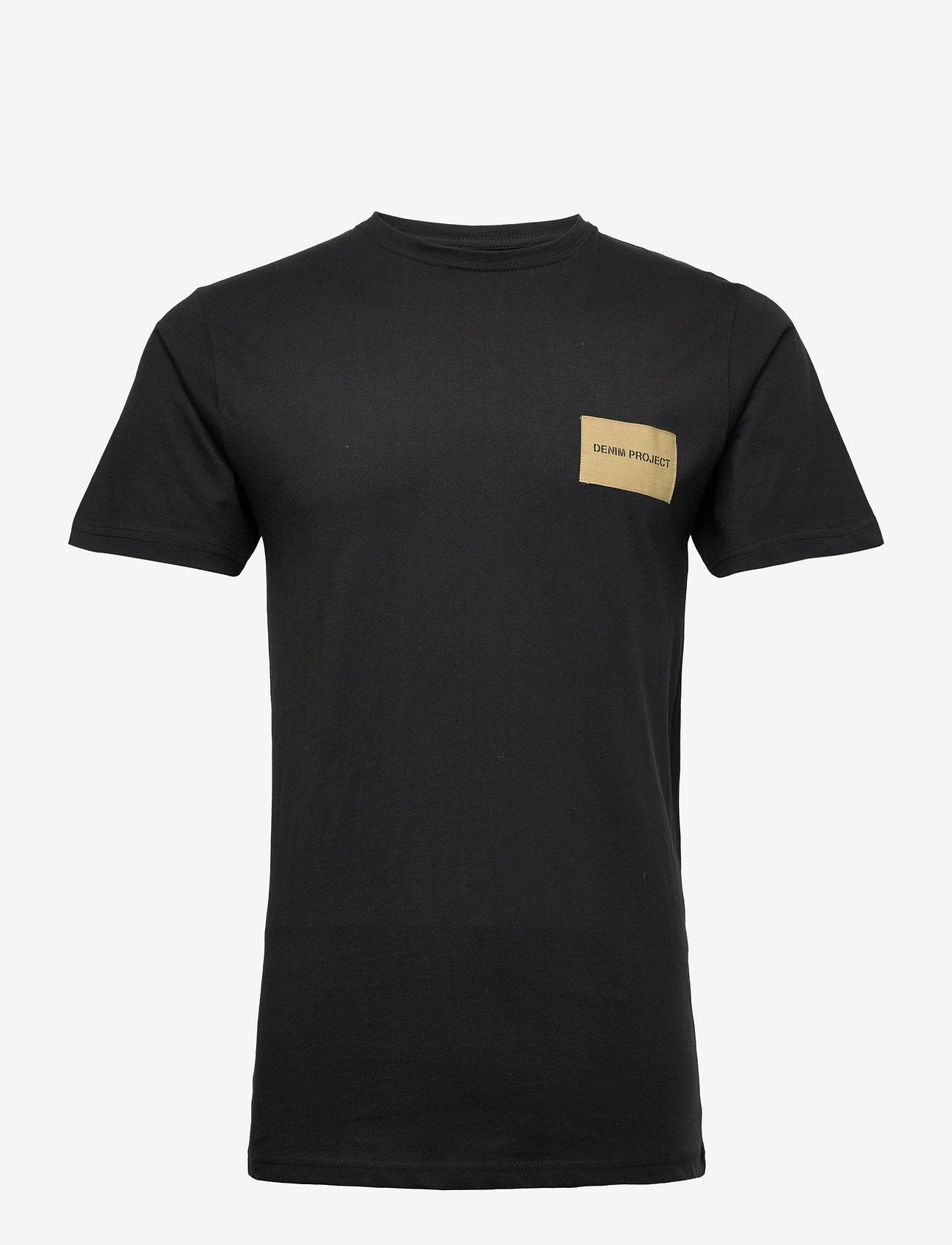 Denim project - DP orlando Tee - basic t-shirts - 001 black - 0