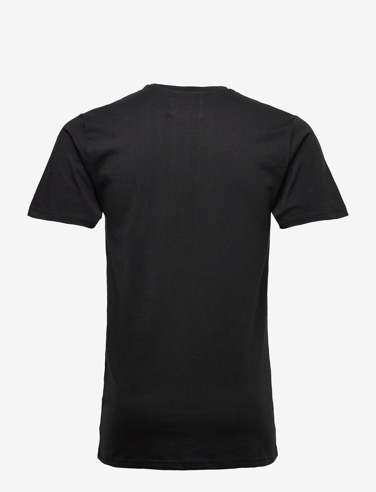 Denim project - DP orlando Tee - basic t-shirts - 001 black - 1