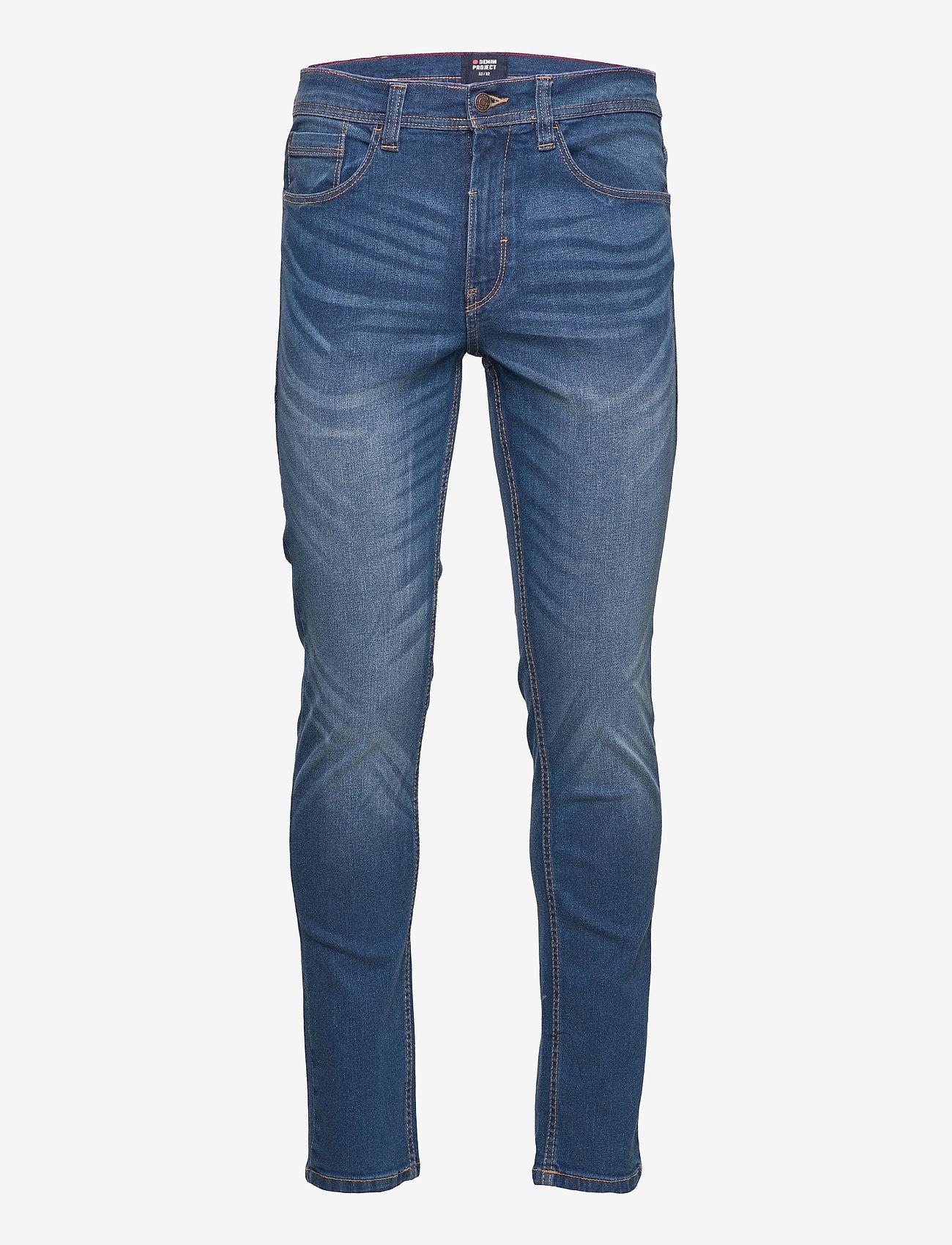 Denim project - Dptom jeans - slim jeans - 110 medium blue - 0