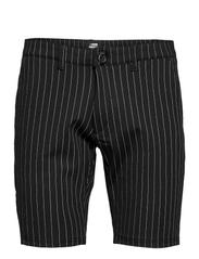 Ponte Shorts - BLACK WHITE PIN