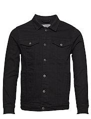 Kash Denim Jacket - BLACK