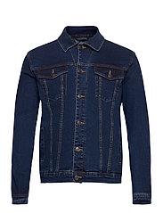 Kash Denim Jacket - DARK BLUE
