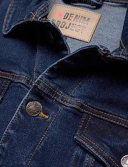 Denim project - Kash Denim Jacket - denimjakker - dark blue - 2