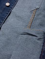Denim project - Kash Denim Jacket - denimjakker - dark blue - 4