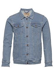 Kash Denim Jacket - LIGHT BLUE