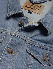 Denim project - Kash Denim Jacket - denimjakker - light blue - 2