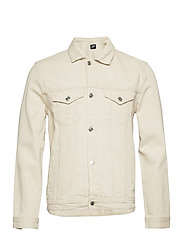 Organic  Denim Jacket - 127 SAND WASH