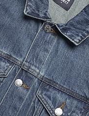 Denim project - Organic  Denim Jacket - denimjakker - 128 dark wash - 2