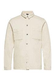 Denim Over Shirt - 127 SAND WASH