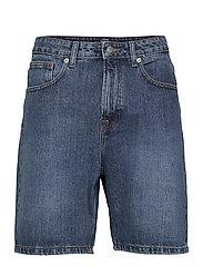 Classic Organic Dad Shorts - 128 DARK WASH