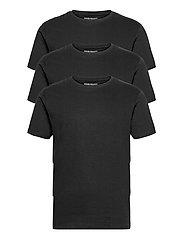 3 PACK T-SHIRTS - BLACK