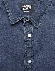 Denim project - Lenny Denim Shirt L/S - basic skjorter - 043 dark blue - 2
