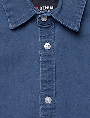Denim project - Lenny Denim Shirt L/S - basic skjorter - light blue - 2