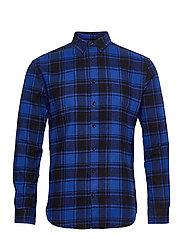 Check Shirt - BLUE CHECK