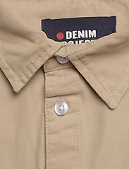 Denim project - LUIS SHIRT - podstawowe koszulki - humus - 2