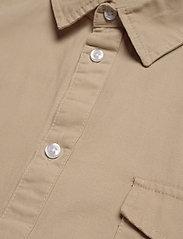 Denim project - LUIS SHIRT - podstawowe koszulki - humus - 3