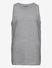 Denim project - DP Tanktop 10 Pack - basic t-shirts - 4xblack 4xwhite 2xlgm - 1