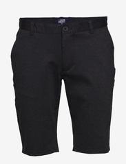 Denim project - Ponte Shorts - chinos shorts - dark grey melange - 0