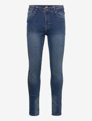 Denim project - Mr. Red - skinny jeans - dark blue - 0