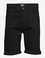 Denim project - Mr. Orange - farkkushortsit - black - 0