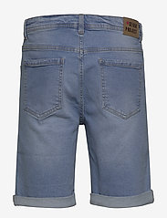 Denim project - Mr. Orange - farkkushortsit - light blue destroy - 1