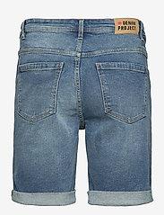 Denim project - MR Orange Light Destroy - denim shorts - 172 sicily blue - 1