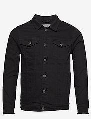 Denim project - Kash Denim Jacket - farkkutakit - black - 0