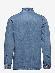 Denim project - Denim Over Shirt - tøj - 129 light wash - 1
