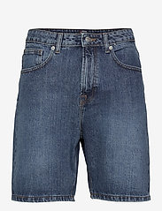 Denim project - Classic Organic Dad Shorts - denim shorts - 128 dark wash - 0