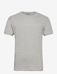 Denim project - 3 PACK T-SHIRTS - basic t-shirts - black/white/light grey melange - 9