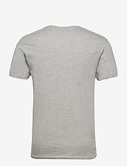 Denim project - 3 PACK T-SHIRTS - basic t-shirts - black/white/light grey melange - 8