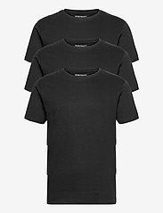Denim project - 3 PACK T-SHIRTS - basic t-shirts - black - 0