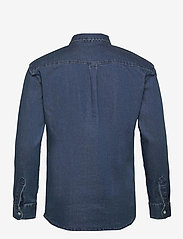 Denim project - Lenny Denim Shirt L/S - basic skjorter - 043 dark blue - 1