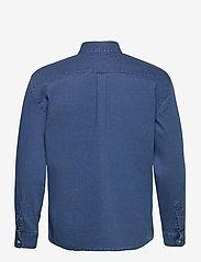 Denim project - Lenny Denim Shirt L/S - basic skjorter - light blue - 1