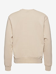 Denim project - Horizon Logo Organic Crewneck - basic sweatshirts - 128 ivory - 1