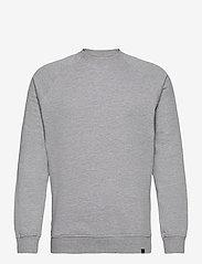 Denim project - BASIC SWEAT CREW - basic sweatshirts - 003 grey - 0