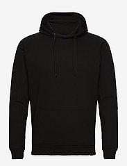 Denim project - BASIC SWEAT HOODIE - basic sweatshirts - 001 black - 0