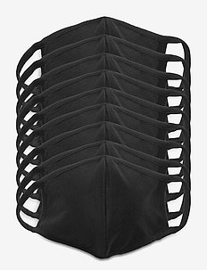 MASK 10 PACK - face masks - black