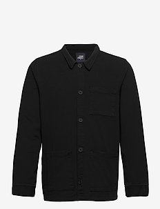 CHINO JACKET - yläosat - black
