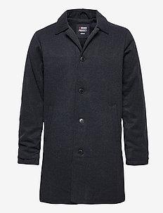 WOOL COAT - wool coats - navy melange