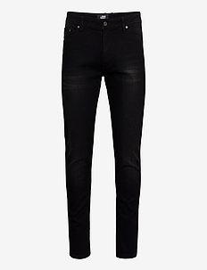 MR. BLACK - slim jeans - black washed