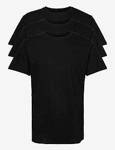 DP Longy Tee 3 Pack - basic t-shirts - 3 black