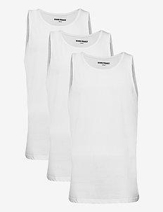 DP Tanktop 3 Pack - basic t-shirts - 3 x white