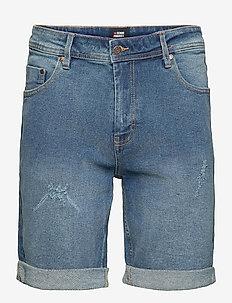 MR Orange Light Destroy - denim shorts - 172 sicily blue
