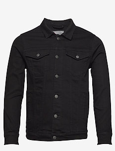 Kash Denim Jacket - farkkutakit - black