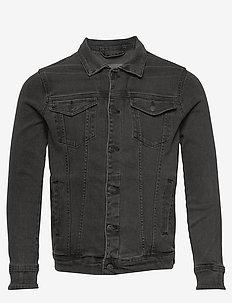 Kash Denim Jacket - kurtki dżinsowe - grey